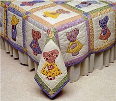 I have always loved sunbonnet sue quilts