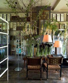 Claire Basler Studio Artemide Lamp Remodelista