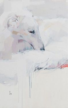 BORZOI-私がボルゾイを描く理由-   Izumi Kogahara