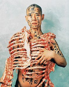 Chinese contemporary art Zhang Huan  Interested in Art? Check out the artist Leo Alexander Scott ....  http://leoalexanderscott.mackaycreatives.com.au