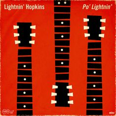 Lightnin' Hopkins - Po' Lightnin'. #albumcover #records #musicart http://www.pinterest.com/TheHitman14/album-cover-art/