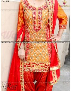 Give yourself a stylish & designer look with this Stunning Mustard Embroidered Punjabi Suit. Embellished with Embroidery work and lace work. Available with matching bottom & dupatta. It will make you noticable in special gathering. You can design this suit in any color combination or on any fabric. Just whatsapp us for more details.  For more details whatsapp us: +919915178418