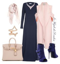 """Hijab Outfit"" by le-hijab-de-doudou ❤ liked on Polyvore featuring Hermès, Nordstrom, Carbon & Hyde, Humble Chic, Giuseppe Zanotti, women's clothing, women's fashion, women, female and woman"