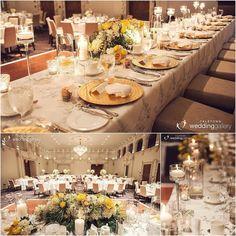 fabulous vancouver wedding Classy and elegant head table for Kristin & Chris's wedding at @rwhotelgeorgia  Decor by @infinityluxurylinensanddecor | Flowers by @vancouverflower | Photo by @yaletownphoto #wedding #yellow #gold #love #pretty #beautiful #elegant #headtable #weddinginspiration #weddingideas #weddingstyle #weddingdecor #weddingdesign #instawedding #eventdesign #vancouver #vancity #infinitydecor by @infinityluxurylinensanddecor  #vancouverflorist #vancouverwedding...