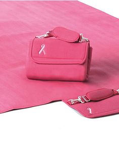 Loving this Breast Cancer Awareness Waterproof Picnic Blanket on #zulily! #zulilyfinds