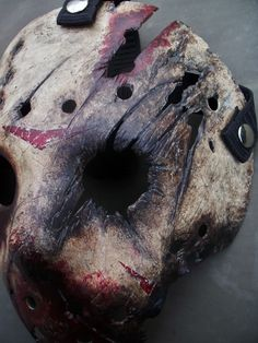 #Custom #Friday The 13th Part VII The New Blood #Jason Voorhees #Hockey Mask #Horror