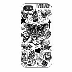 Harry Styles Tattoos iPhone 5/5s Case