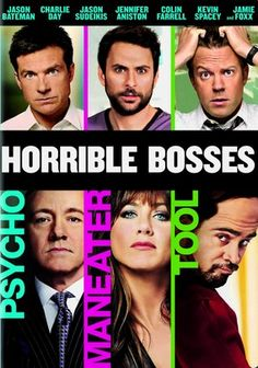 Horrible Bosses Jason Sudeikis, Horrible Bosses, Funniest Movies, Funny  Movies, Great Movies