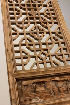 Period Ornate Carved Fretwork Door/Panel