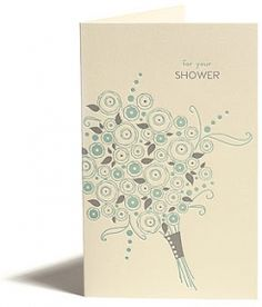 Greeting Cards - Everyday - Wedding - Shower Bouquet - Snow & Graham: Letterpress Stationery, Invitations, Greeting Cards and Calendars
