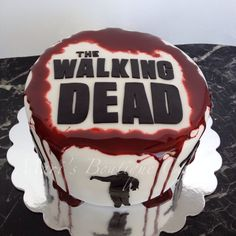 The Walking Dead Cake - by Mari's Boutique Cakes