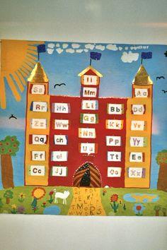 Magical letter castle