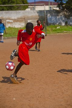 Work hard, play hard at the Osu Presby Cluster School in Accra, Ghana. Photo by Morgana Wingard