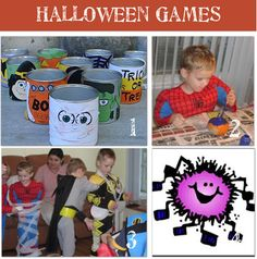 Halloween game ideas - maybe for Trunk or Treat or Bicycle Rodeo with some tweaking.