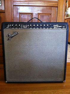 Vintage Fender Super Reverb Blackface Amp (1965)
