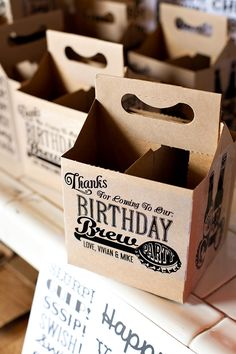 Keep It Local: Beer & Pretzel Party {Joint Birthday}