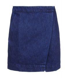 Être Cécile Blue Denim Mini Skirt - Jean Skirt - ShopBAZAAR, How would you style this? http://keep.com/etre-cecile-blue-denim-mini-skirt-jean-skirt-shopbazaar-by-megan_bazaar/k/zPnXz3ABNS/