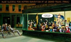 nighthawks parody | Edward Hopper Nighthawks Parody