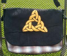 Minervas Handarbeit: Tasche mit Patch