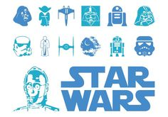 Star Wars Logo And Characters 137973 -  Films and pop culture vector footage of Star Wars vehicles and characters. Text logo and images of Darth Vader, storm troopers, R2D2, Yoda, Death Star, TIE fighter and X-wing star fighter. Free vectors for films, movies, science-fiction, fictional characters and pop culture visuals.  - https://www.welovesolo.com/star-wars-logo-and-characters-2/?utm_source=PN&utm_medium=weloveso80%40gmail.com&utm_campaign=SNAP%2Bfrom%2BWeLoveSoLo