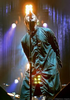 Liam Gallagher, one of my favorite rock vocalists.