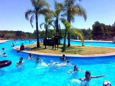 Termas Dayman, Salto. Uruguay´s north west is an area of many hot springs.