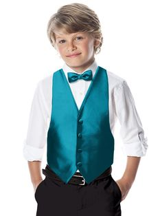 After Six Boy's Backless Vest - matches Dessy's top bridesmaid colorsl http://www.dessy.com/accessories/after-six-boys-backless-vest/?colorid=995
