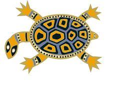 aboringinal painting freshwater turtle - Google Search