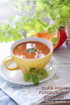 Zupa krem pomidorowo dyniowa