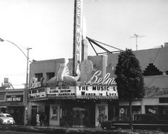 Belmont Theater in Long Beach 1971