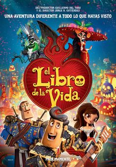 Mis Clases Locas: El Libro de Vida - The Book of Life - free guide for Spanish 1 movie guide film guide Elementary Spanish, Spanish Classroom, Teaching Spanish, Spanish Teacher, Diego Luna, Book Of Life Movie, Film Disney, Life Poster, Movie Guide