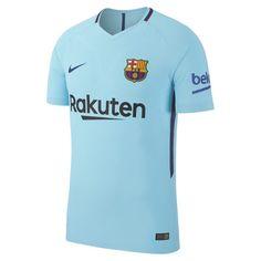c6740eedf 2017 18 FC Barcelona Vapor Match Away Men s Football Shirt - Blue Fc  Barcelona