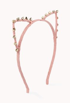 """Spiked Cat Ear Headband 