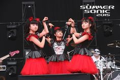 BABYMETAL in SUMMERSONIC 2015 OSAKA 16 August 2015