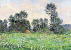 Prairie à Giverny (C Monet - W 1247),1890.
