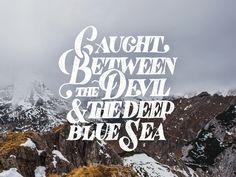 Devil & the Deep Blue Sea by Mark van Leeuwen