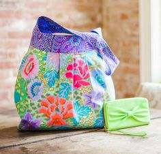 We're giving away a bag sewing kit every day for the rest of the year! Find out how you could win this Kaffe Fasset beauty today.