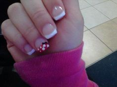 Minnie Mouse Nails! | LUUUX