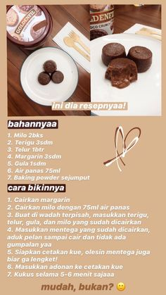 Cooking Cake, Easy Cooking, Snack Recipes, Dessert Recipes, Cooking Recipes, Indonesian Food Traditional, Food Cravings, Diy Food, Easy Desserts