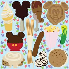8 Favorite Walt Disney World Snacks - Disney - Disney Snacks, Disney Food, Disney Art, Disney Pixar, Disney Stuff, Disney Desserts, Walt Disney World, Disney Vacations, Disney Trips