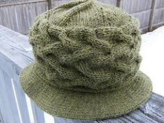 "This design came about because I saw a similar hat in a catalog and thought, ""I can knit that."" My finished hat is nearly identical to Jean's Irish Hat. Enjoy."