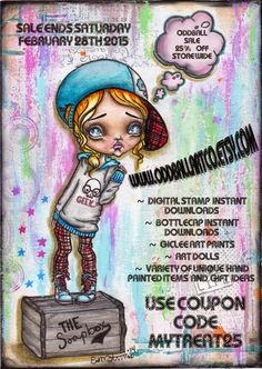 Lizzy Love ♥ Oddball Art Co.: Everything's On Sale Til End of Month!