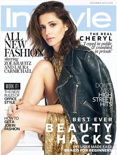 Read all about it: To read the feature in full, see the November issue of British InStyle, on sale the 1st of October. Also available as digital edition through Apple Newsstand