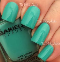 The PolishAholic: Barielle Brilliant Colors Collection Swatches