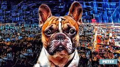 Custom Pet Art by Petsy Custom Dog Portraits, Pet Portraits, Gifts For Pet Lovers, Pet Gifts, Boston Terrier, Your Pet, Artists, Canvas, Detail