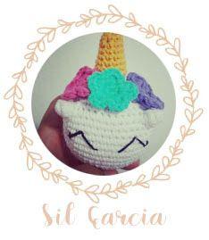Como tejer en crochet (amigurumi) un dulce y tierno mini unicornio. Fácil de hacer y rapidísimo. Patrón gratuito! Ideal para principiantes. (Incluye foto-tutorial)
