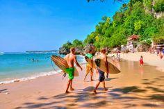 Padang-Padang Beach, Bali, Indonesia