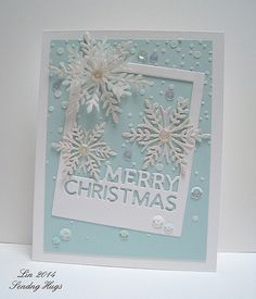 Merry Christmas card by Lin