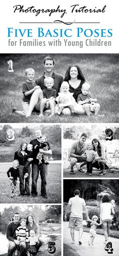 5 Basic Photography Poses for Families with Young Children   Lightroom Presets