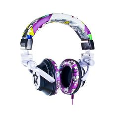 Ti Tokidoki - Headphones - All Products ($90) ❤ liked on Polyvore featuring headphones, accessories, electronics, music and tokidoki